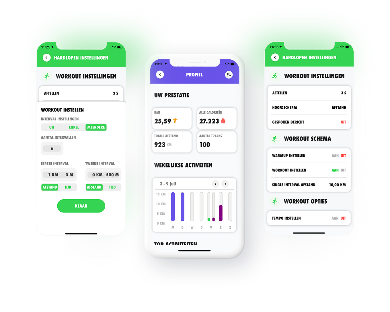 Aurelius-technology-consulting-Tracker-app-schermen-instellingen-iphone-mockup-Tracker-app-interface-settings-iphone-mockup-training-activiteiten-statestieken-Tracker-Hardlopen-Fietsen-Skiën-Track-Tracker-Fiets-Trek-Share-Vakantie-Sport-Ski-GPS-Run-Walk